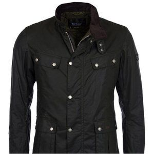 NEW Barbour International Duke Wax Jacket Large